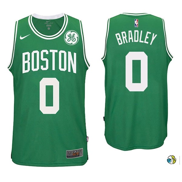 Maillot NBA Boston Celtics NO.0 Avery Bradley Vert 2017-18