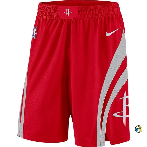 Pantalon Basket Houston Rockets Nike Rouge