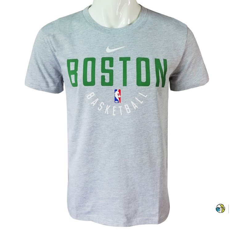 T-Shirt NBA Boston Celtics Gris