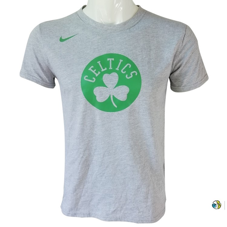 T-Shirt NBA Boston Celtics Nike Gris