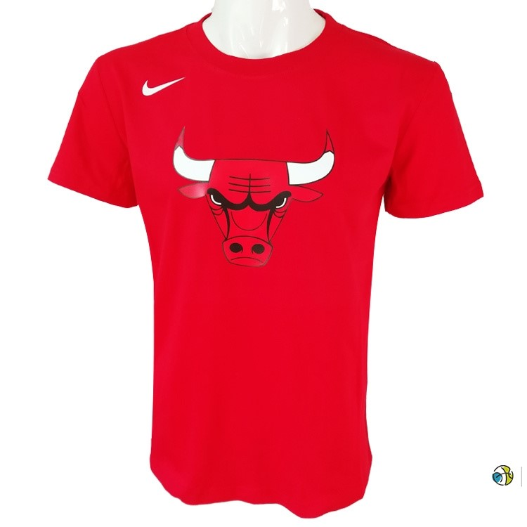 T-Shirt NBA Chicago Bulls Nike Rouge