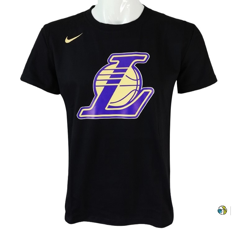 T-Shirt NBA Los Angeles Lakers Nike Noir