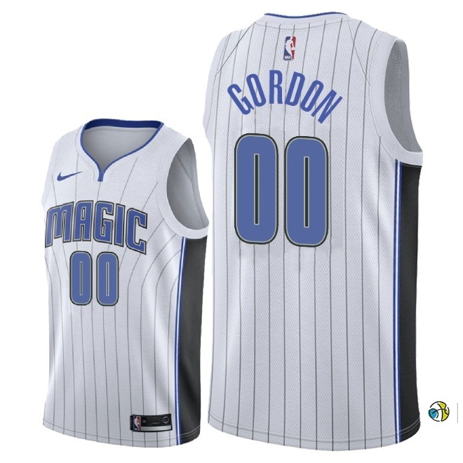 Maillot NBA Nike Orlando Magic NO.0 Aaron Gordon Blanc Association 2018
