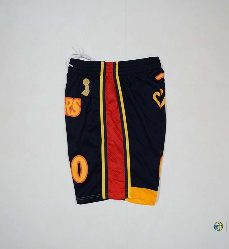 Pantalon Basket Golden State Warriors 2018 Final Champions NO.30 Stephen Curry Noir