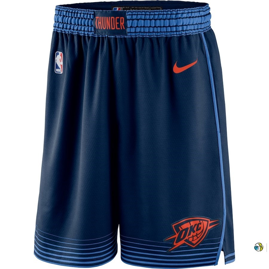 Pantalon Basket Oklahoma City Thunder Nike Marine Statement 2018