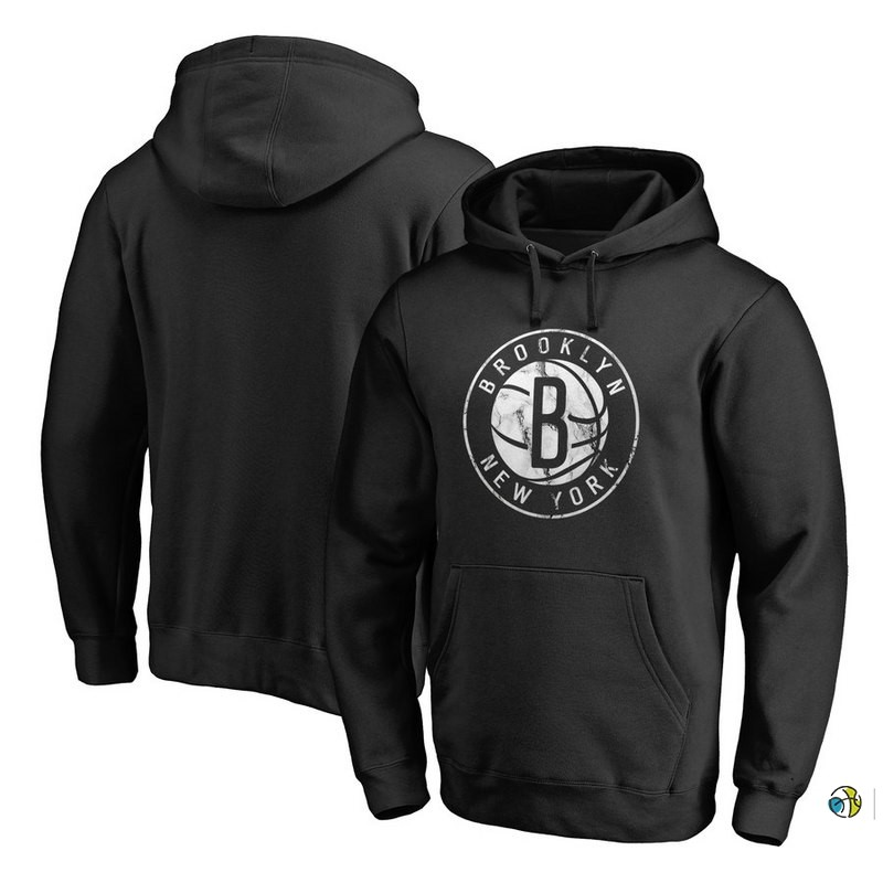 Hoodies NBA Brooklyn Nets Noir