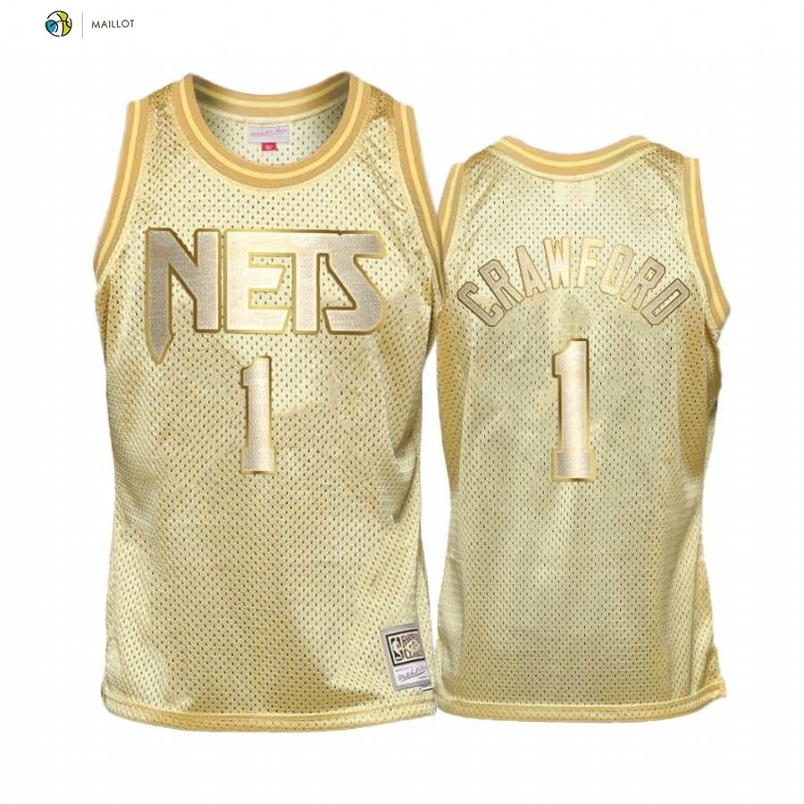 Maillot NBA Enfant San Antonio Spurs Midas NO.9 Jamal Crawford Or Hardwood Classics