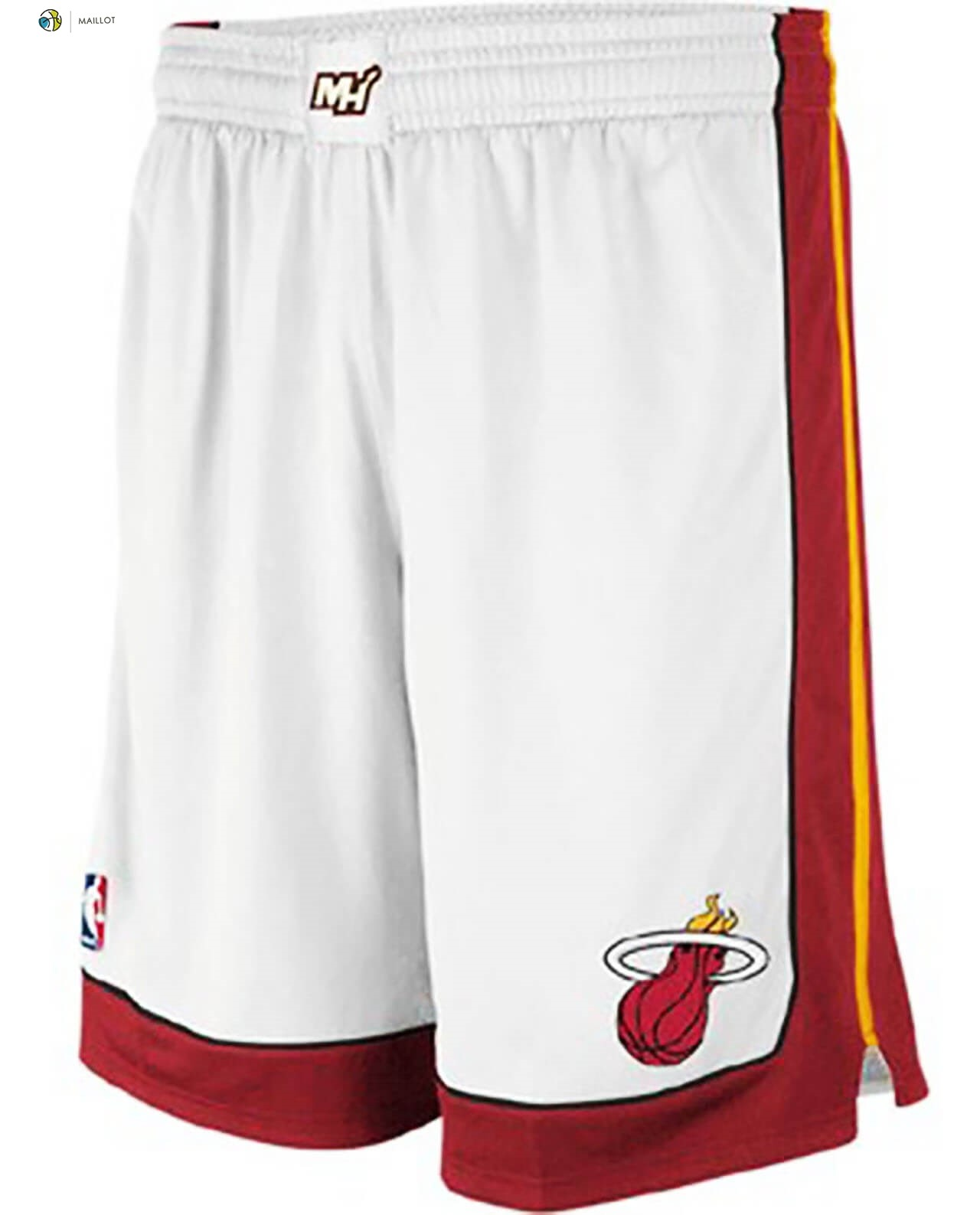 Pantalon NBA Miami Heat Nike Blanc Association