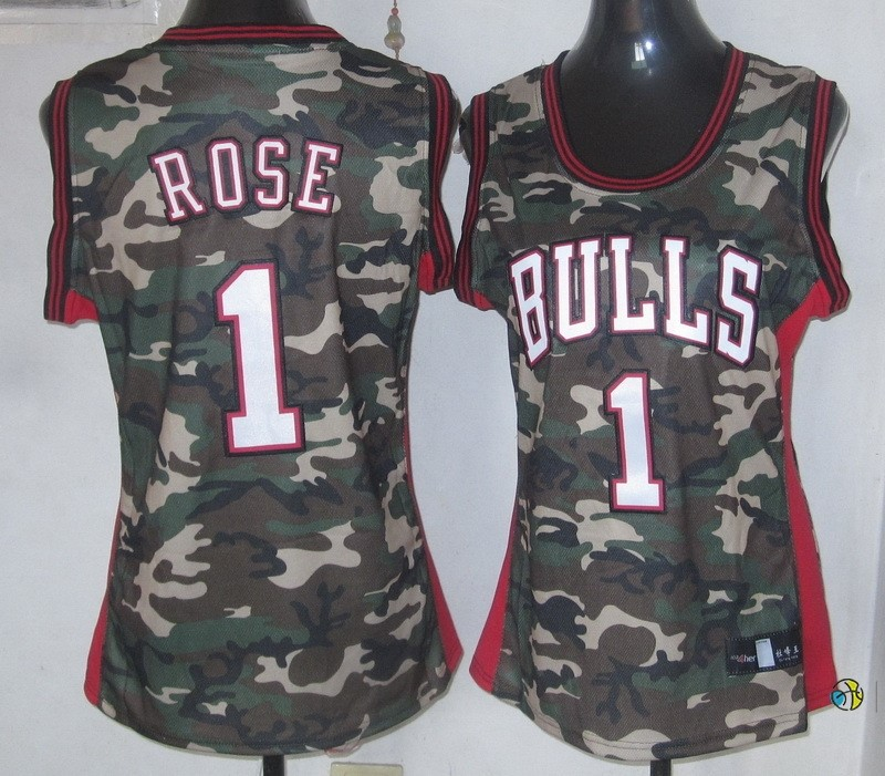 Maillot NBA Femme 2013 Camouflage Fashion NO.1 Rose