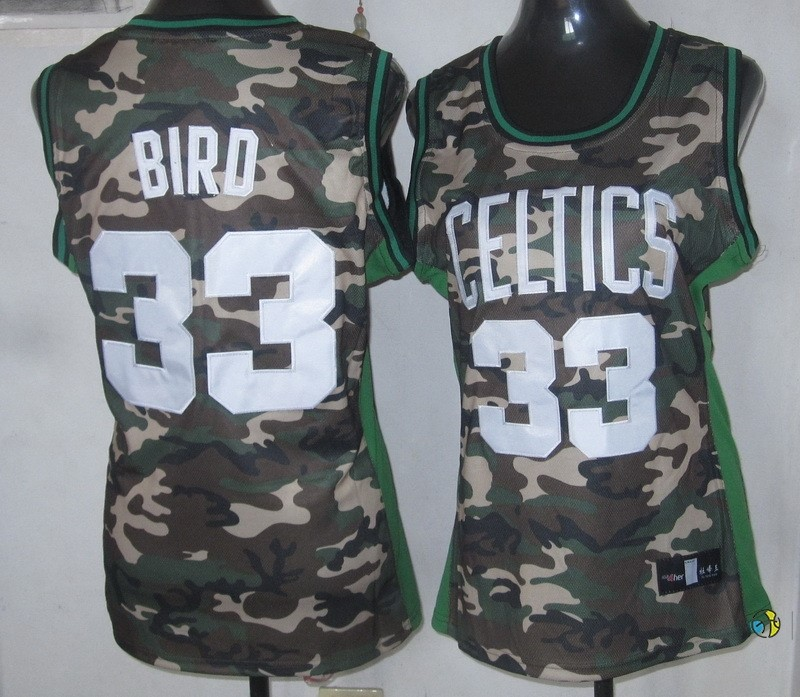Maillot NBA Femme 2013 Camouflage Fashion NO.33 Bird