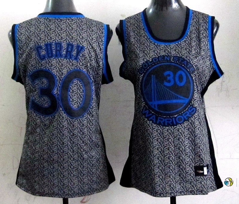 Maillot NBA Femme 2013 Static Fashion NO.30 Stephen Curry