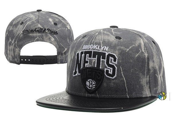 Casquette NBA 2016 Brooklyn Nets Retro Gris