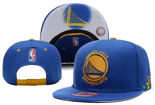 Casquette NBA 2016 Golden State Warriors Bleu