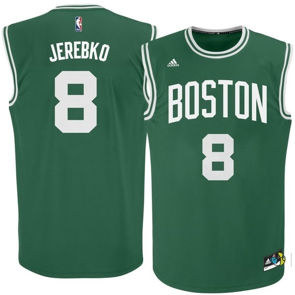 Maillot NBA Boston Celtics No.8 Jeff Green Vert