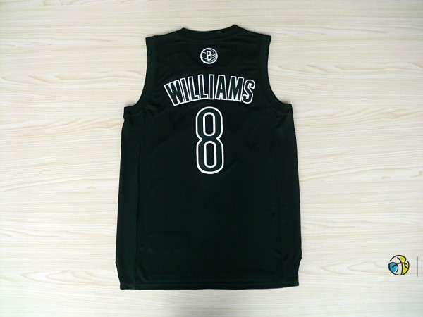 Maillot NBA Brooklyn Nets 2012 Noël NO.8 Williams Noir