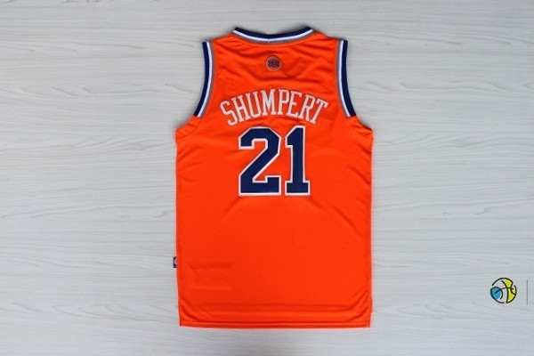 Maillot NBA New York Knicks 2012 Noël NO.21 Shumpert Orange