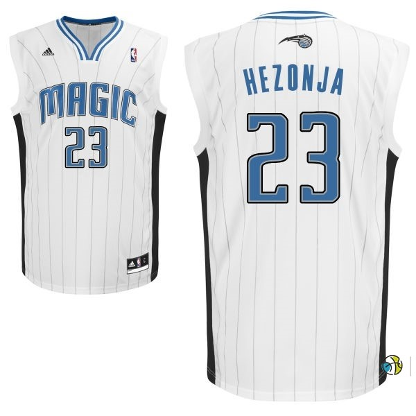 Maillot NBA Orlando Magic NO.23 Mario Hezonja Blanc