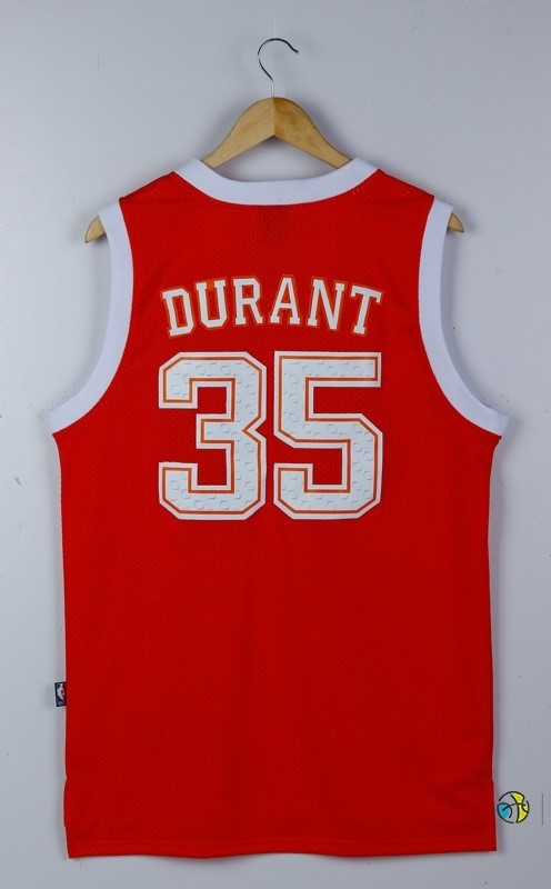 Maillot NCAA Texas NO.35 Kevin Durant Rouge