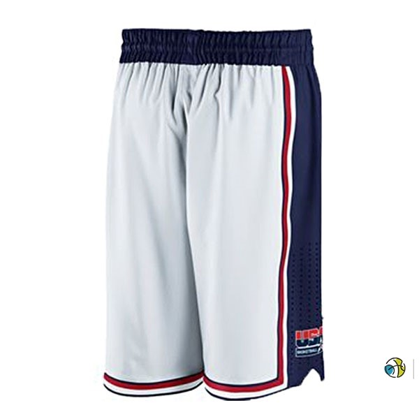 Pantalon Basket 1992 USA Blanc