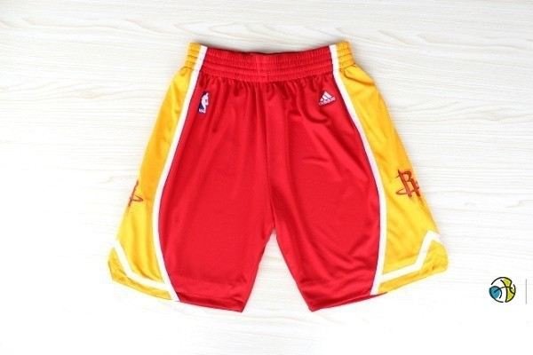 Pantalon Basket Houston Rockets Retro Rouge