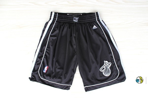 Pantalon Basket Miami Heat Noir