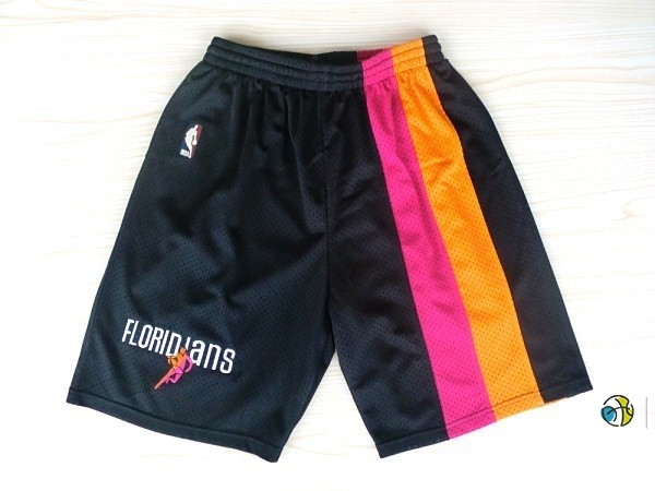 Pantalon Basket Miami Heat Retro Floridians Noir