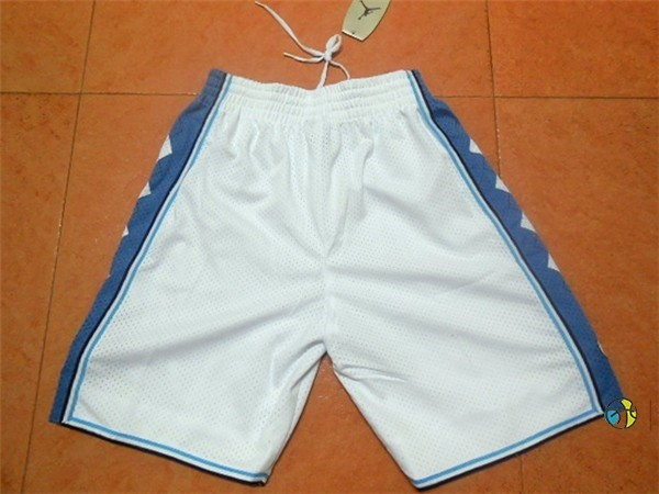 Pantalon Basket North Carolina Blanc