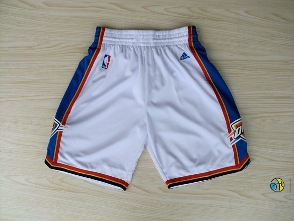 Pantalon Basket Oklahoma City Thunder Blanc