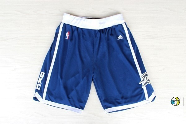 Pantalon Basket Oklahoma City Thunder Retro Bleu