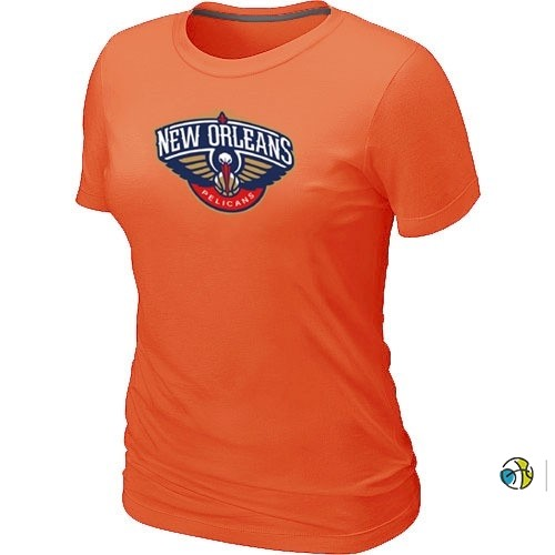 T-Shirt Femme NBA New Orleans Pelicans Orange