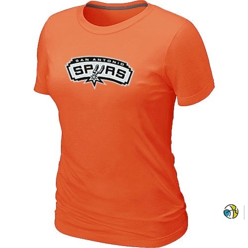 T-Shirt Femme NBA San Antonio Spurs Orange