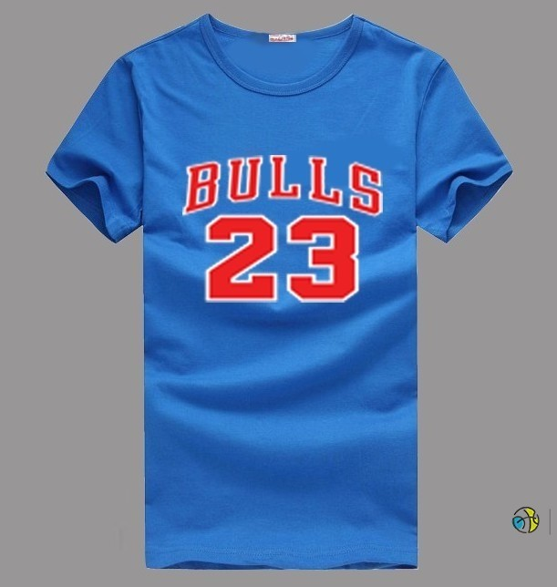 T-Shirt NBA Chicago Bulls Jordan NO.23 Bleu