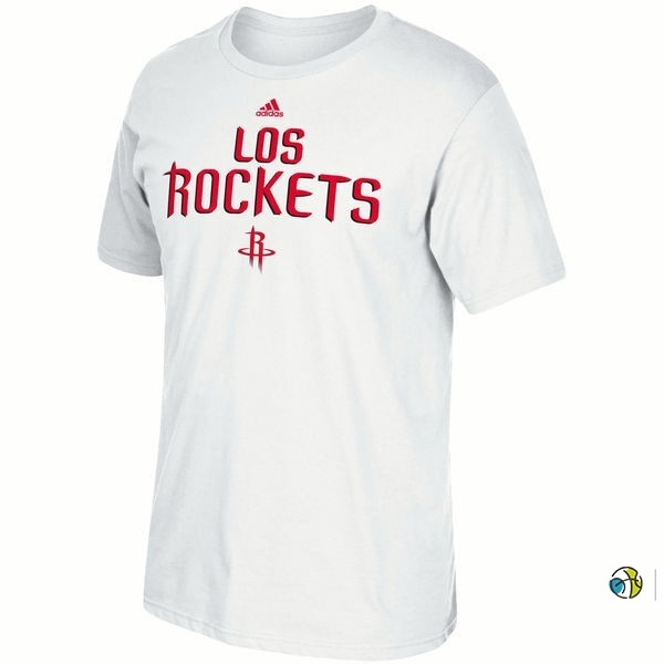 T-Shirt NBA Houston Rockets Blanc