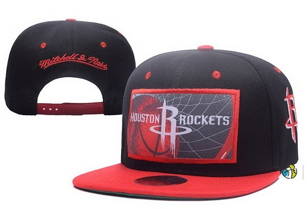 Casquette NBA 2017 Houston Rockets Rouge Gris
